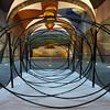 Wire sculpture at University School of Fine Arts, San Miguel de Allende, Guanajuato, Mexico