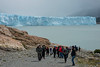 Climbers on Perito Moreno Glacier, Lake Argentino, Los Glaciares National Park, Santa Cruz Province, Patagonia, Argentina
