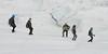Ice climbers on Perito Moreno Glacier, Los Glaciares National Park, Santa Cruz Province, Patagonia, Argentina