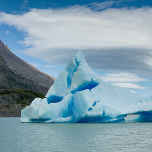 Gray Glacier - Torres Del Paine National Park, Patagonia CHILE