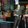 Mannequins in shop window display, Minneapolis, Hennepin County, Minnesota, USA