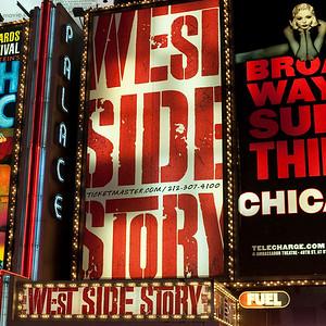 Billboards in Times Square Manhattan, New York City, U.S.A.