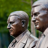 Statues at the Mayo Clinic in Rochester, Minnesota, USA