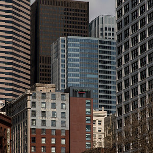 Buildings in a city, Pioneer Square, Seattle, Washington State, USA