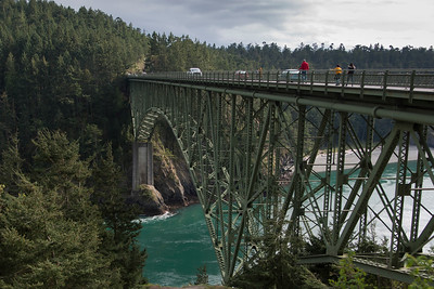 Deception Pass Bridge, Deception Pass State Park, Washington State, USA