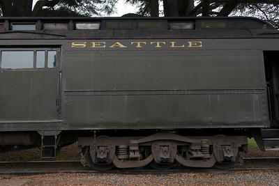 Locomotive at Northwest Railway Museum, Snoqualmie, Washington State, USA