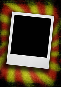 photo frame against dirty rough grunge background
