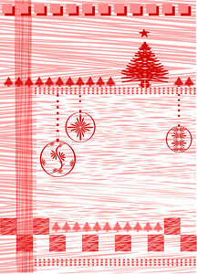 christmas  background. vector