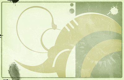 Computer designed grunge abstract border and background. High resolution illustration.