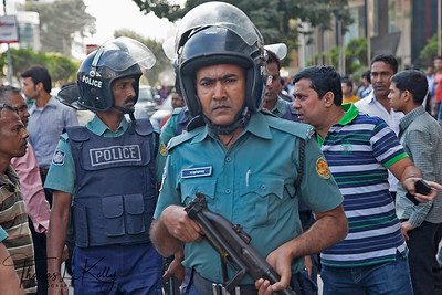 Riot in Bangladesh