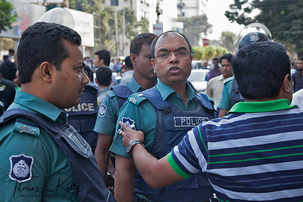 Riot in Bangladesh