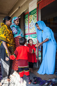 Sanya Mission day care center in Kumrakhali Village. Bangladesh.