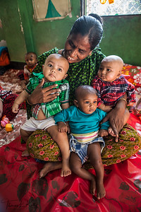 Day Care Center in Mirour. Dhaka, Bangladesh.