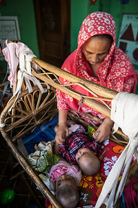 Day Care Center in Mirour. Dhaka, Bangladesh.