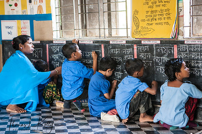 Sanya Mission day care center in Kumrakhali Village. Bangladesh.