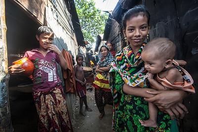 Life In Urban Slums of Dhaka. Bangladesh.