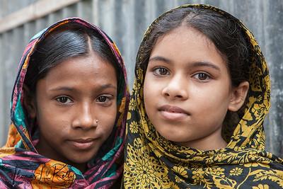 Urban Slum in Dhaka. Bangladesh.