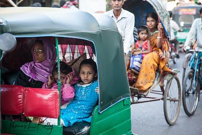 Dhaka Streets. Bangladesh.