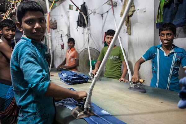 Garment Factory in Bangladesh.