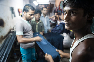 Garment Factory in Bangladesh.