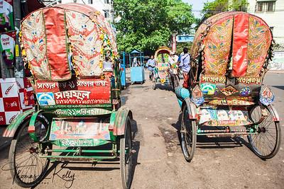 Street scenics of Old Dhaka, Bangladesh.