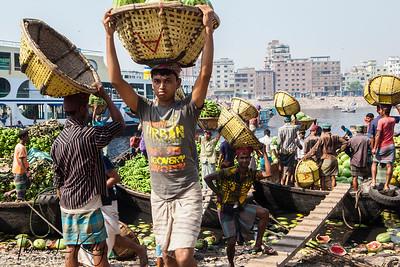 Fruit Market in Dhaka. Bangladesh