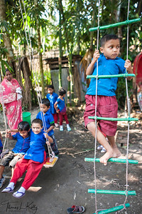 Pre School in Tulsigariya Village, Bangladesh.