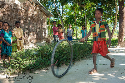 Life in Ghiramara Village. Bangladesh.