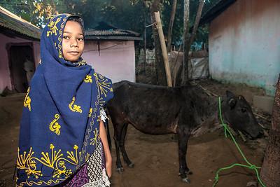 Life in Malinchora Village. Bangladesh.