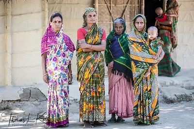 Life in Ghiramara Village. Bangladesh.