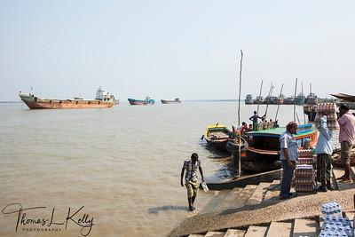 Life in Amtali Village, Khulna, Bangladesh.