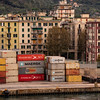 Containers; Port of La Spezia; Italy