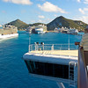 7 Cruise Ships in St. Maarten from Ruby Princess