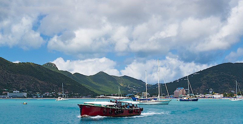 Water Taxi; St. Maarten Harbor
