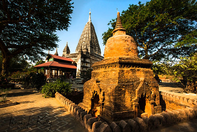 The Mahabodhi Temple in Bagan.