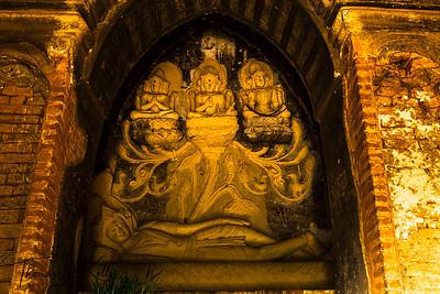 Nathlaung Kyaung Hindu Temple. Myanmar.