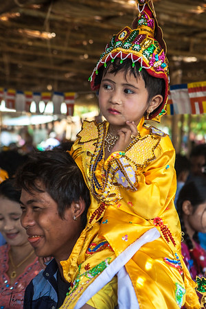 Shin Pyu Celebration for Myanmar Girl.s