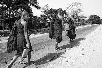 Burmese Monk.