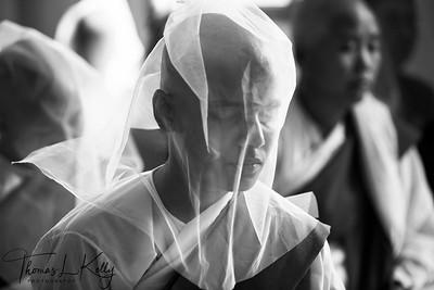 Meditating Nuns. Pyin Oo Lwin.