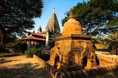 The Mahabodhi Temple in Bagan.