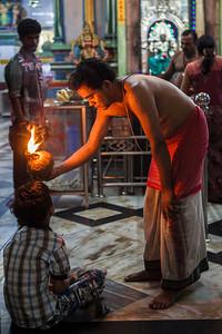 Shri Kali temple in Yangon.