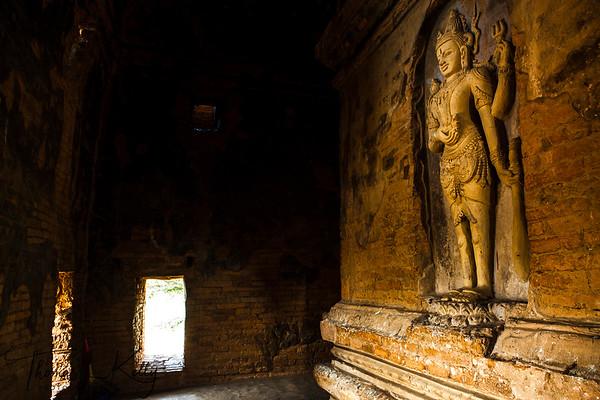 Nathlaung Kyaung Hindu Temple. Bagan.