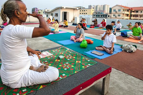 Early Morning Yoga and Pranayama