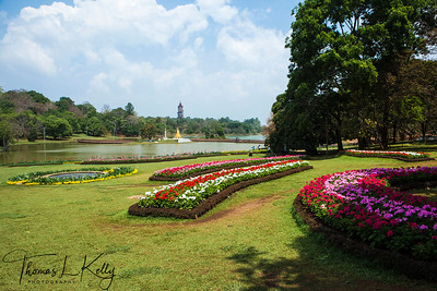 The National Kandawgyi Botanical Garden. Myanmar.