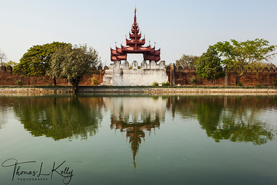 Old Fort in Mandalay.
