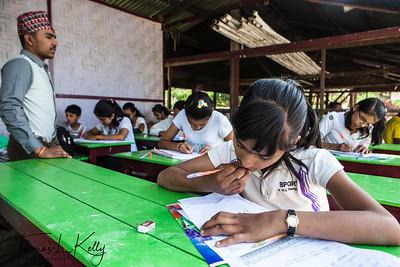 Nepali School in Pyin Oo Lwin.