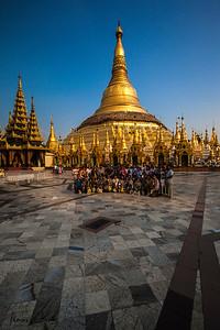 Shwedagon Pagoda, Yangon.
