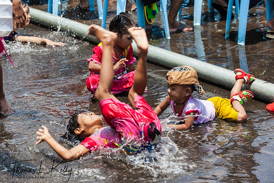 Water Festival in Myanmar.