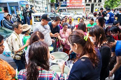 Water Festival in Myanmar.