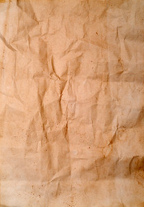 old wrinkled paper good as a background